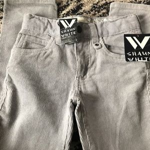 Shaun White skinny corduroy pants for boy 6yrs old